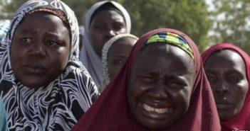 Chibok Mothers Crying