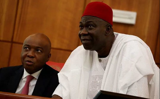 Saraki and Ekweremadu