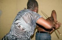 Wife-beating-husband