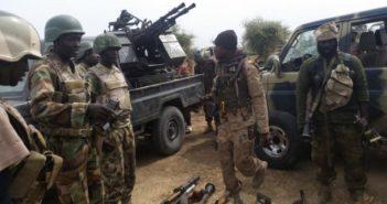 Nigerian Soldiers in Sambisa