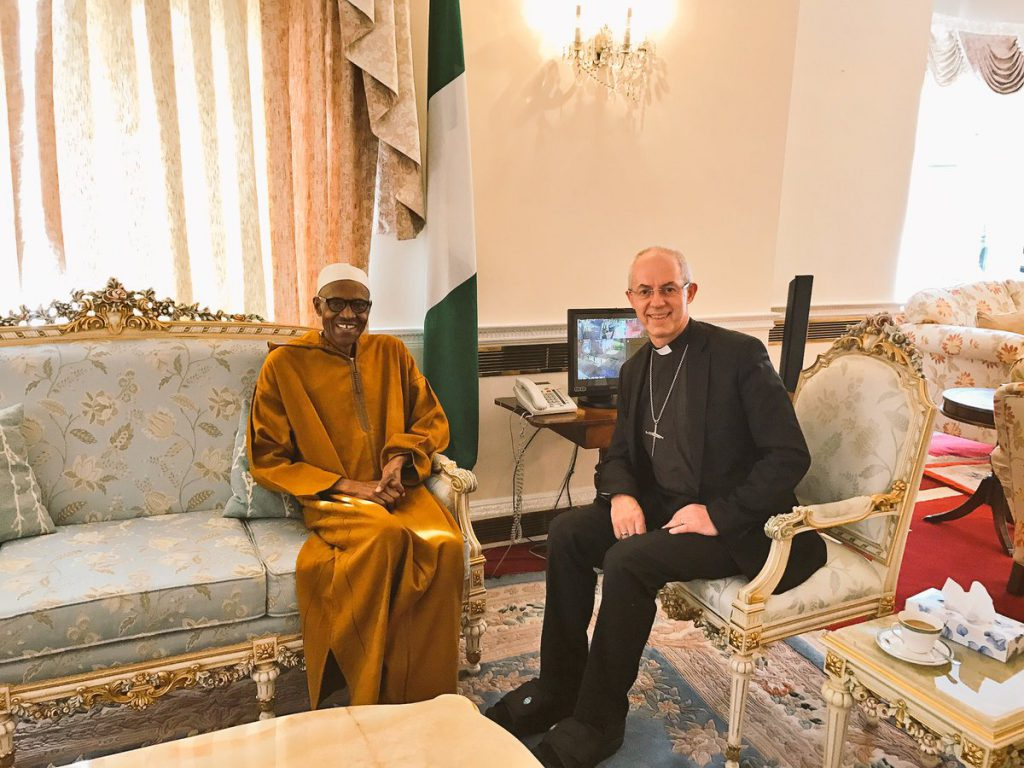 Buhari_London_archbishop_1