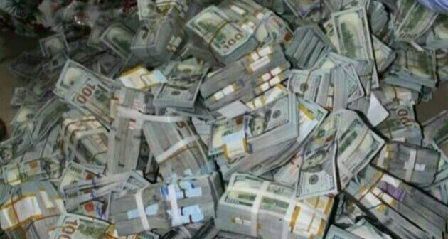 EFCC-Discovers-43-Million-£27800-In-Lagos-Building