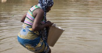 Woman-fetching-water