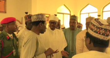 Buhari-attends-prayers