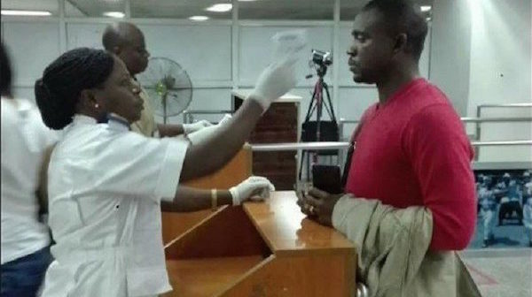 Ebola screening 1
