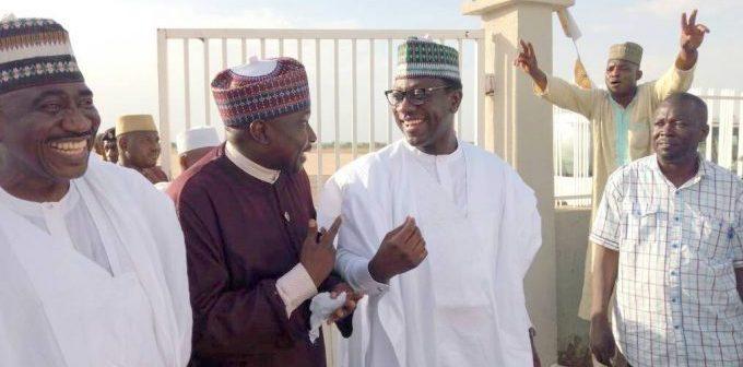 Ado Doguwa and Abdul