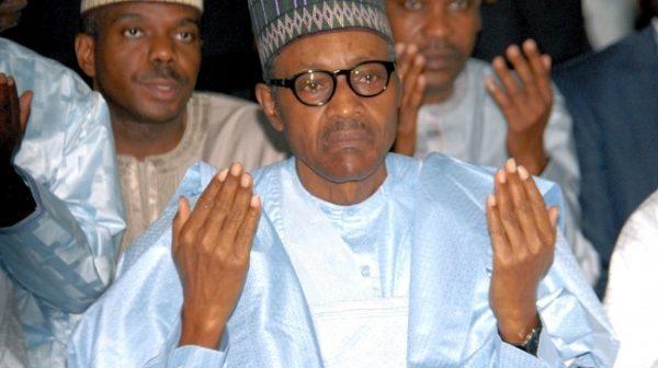 Buhari Praying