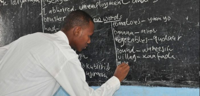 Teacher in Nigeria