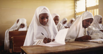 Islamic school for girls and young women in Kano