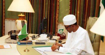 Buhari at Villa