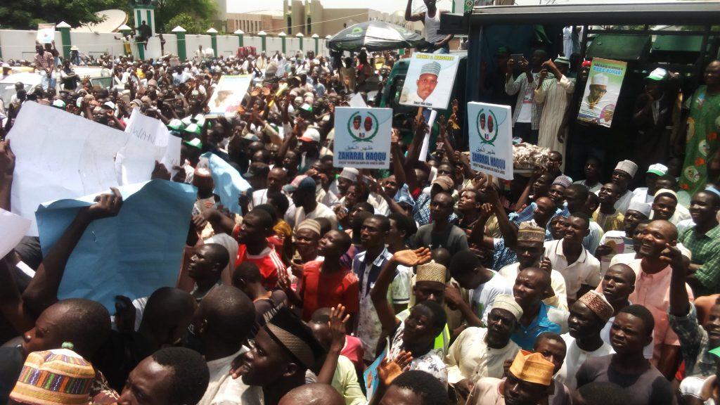 Kano Buhari Rally