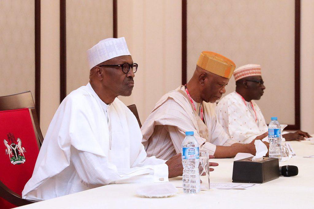 Makarfi and Buhari 3