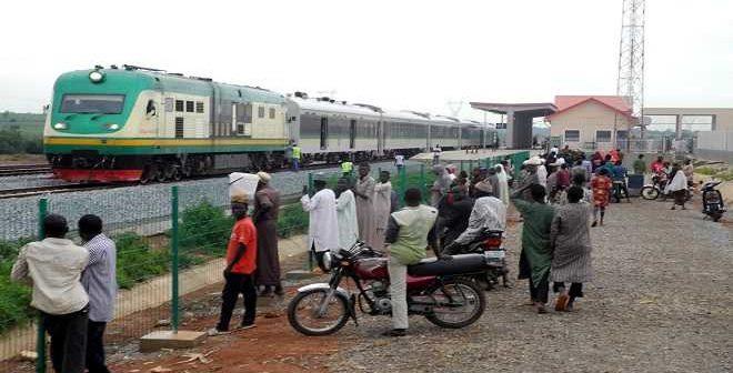 Train in Kaduna Nigeria