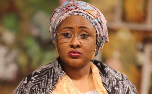 Aisha Buhari wife of the President,