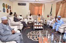 El-Rufai with NASS members