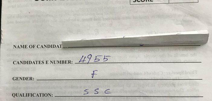 Kaduna Answer sheet 7