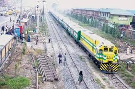 Train in Lagos