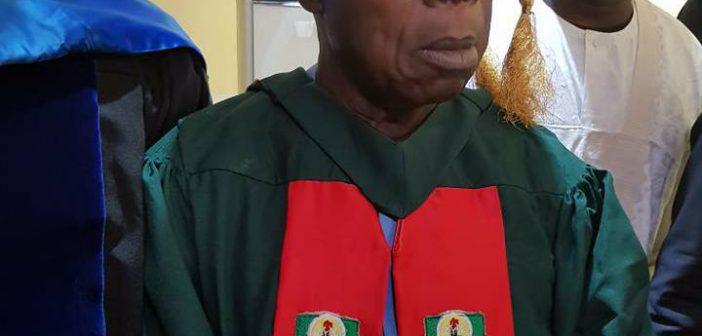 Obasanjo Graduating