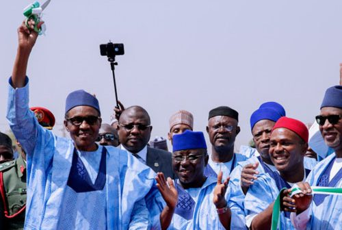 Buhari at Nasarawa