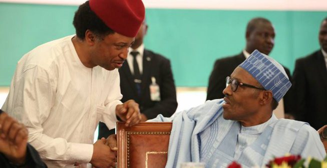 Shehu Sani and Buhari