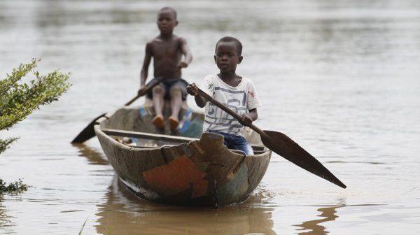 Children sailing Boat
