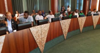 Super Eagles visits Buhari