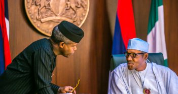 Osinbajo and Buhari