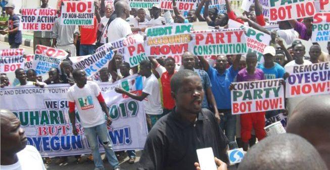 APC Protesters