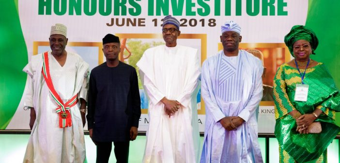 Buhari, Moshood, Yemi and Kingibe