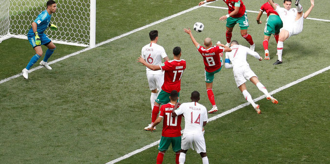 Morocco vs Portugal