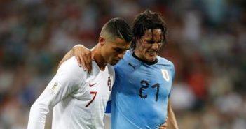 Ronaldo and Cavanni