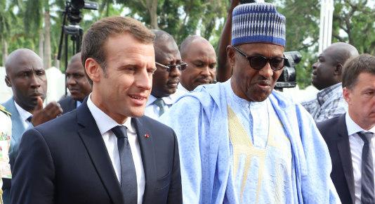 Buhari and Macron