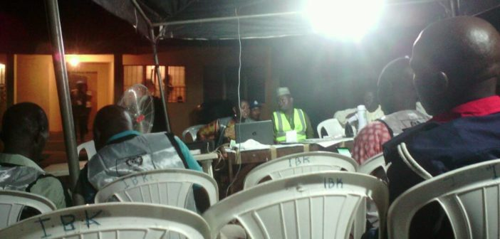 Ekiti Election collation center