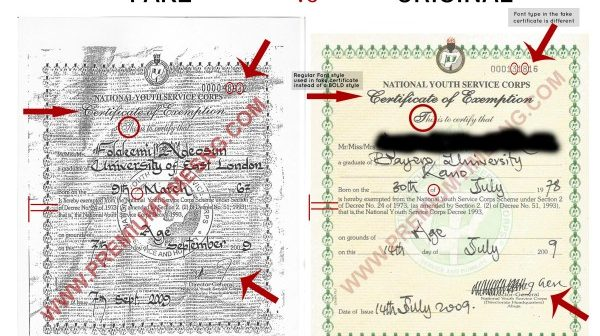 NYSC-exemption-certificate-compare-and-contrast