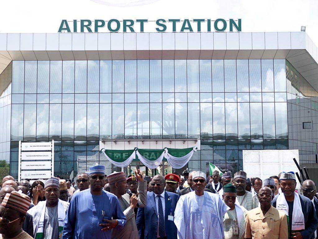 Abuja Train station Commissioning