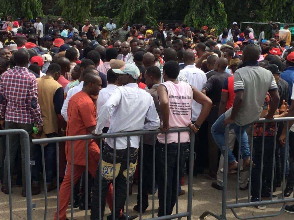 PDP Protest at Senate