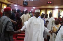 Saraki in the Senate