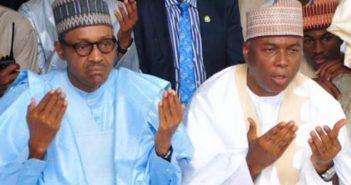 Saraki and Buhari Prayer