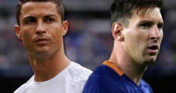 Ronaldo and Messi
