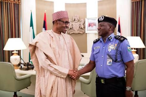 Buhari and IGP Idris Ibrahim