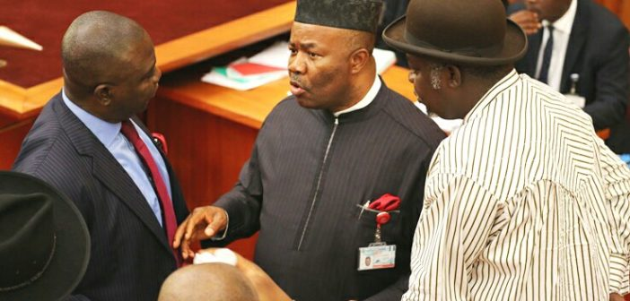 Akpabio in senate