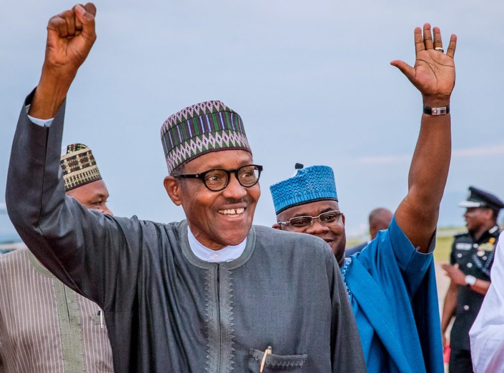 Buhari Slaughtering Ram