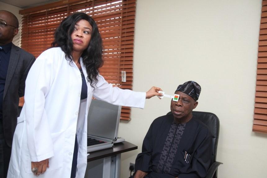 Obasanjo Check up
