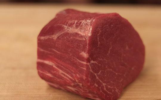 Beef uncooked
