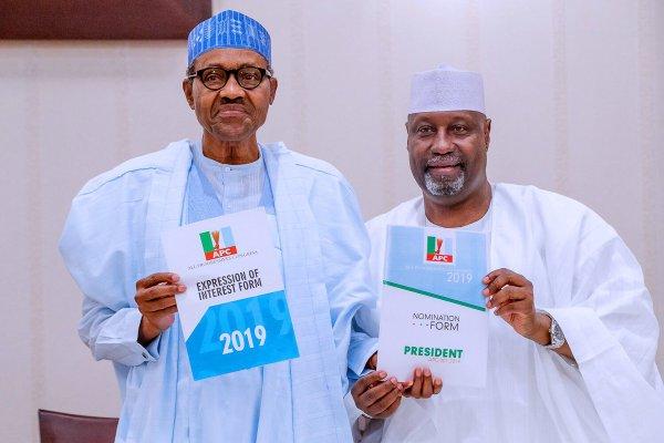 Buhari and Adamu Aliyu