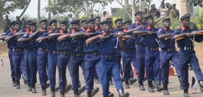 Civil Defence officers