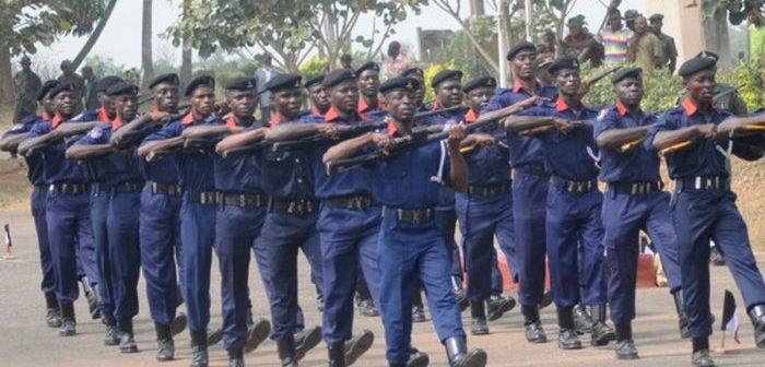 Civil Defence officers