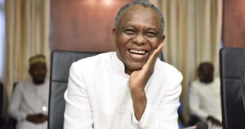 El- Rufai Laughing