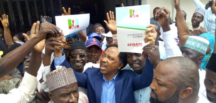 SHehu Sani Collect Nomination Form