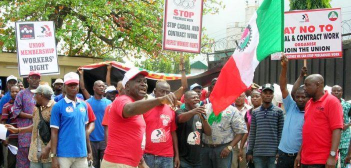 NLC Protest